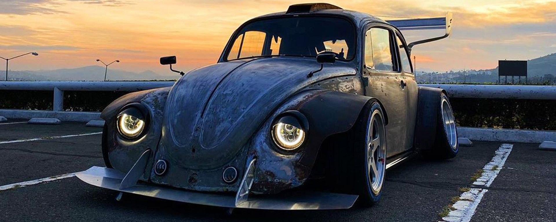 Volkswagen Beetle: l'auto di Juca Viapri
