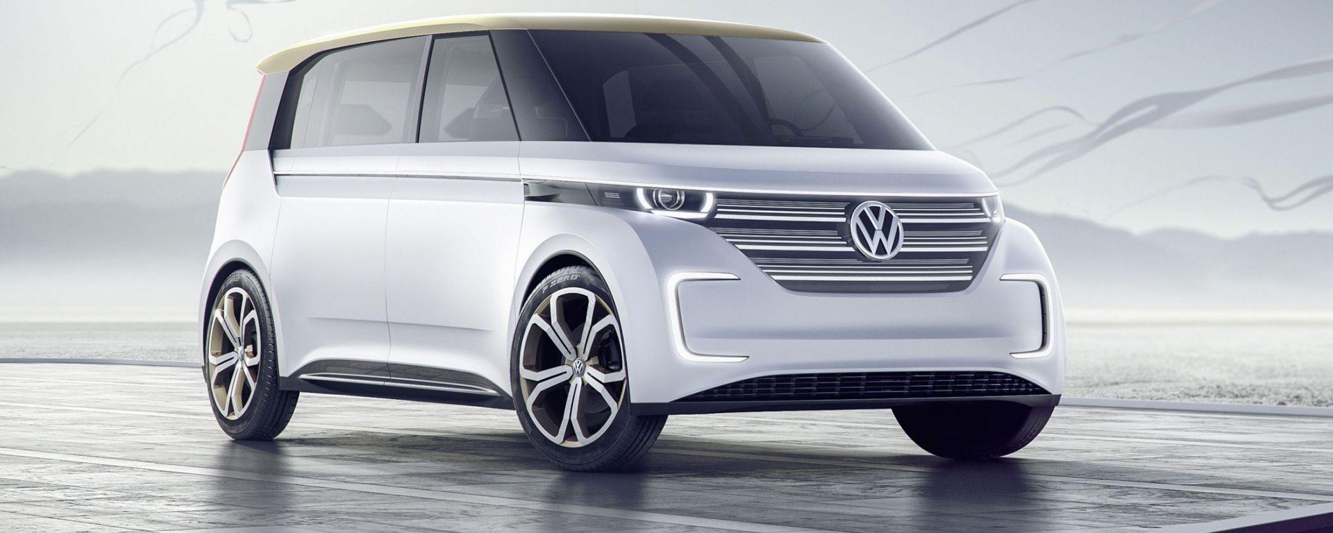 Volkswagen Budd-e, la concept elettrica di Wolfsburg in grado di percorrere 500 km con una ricarica