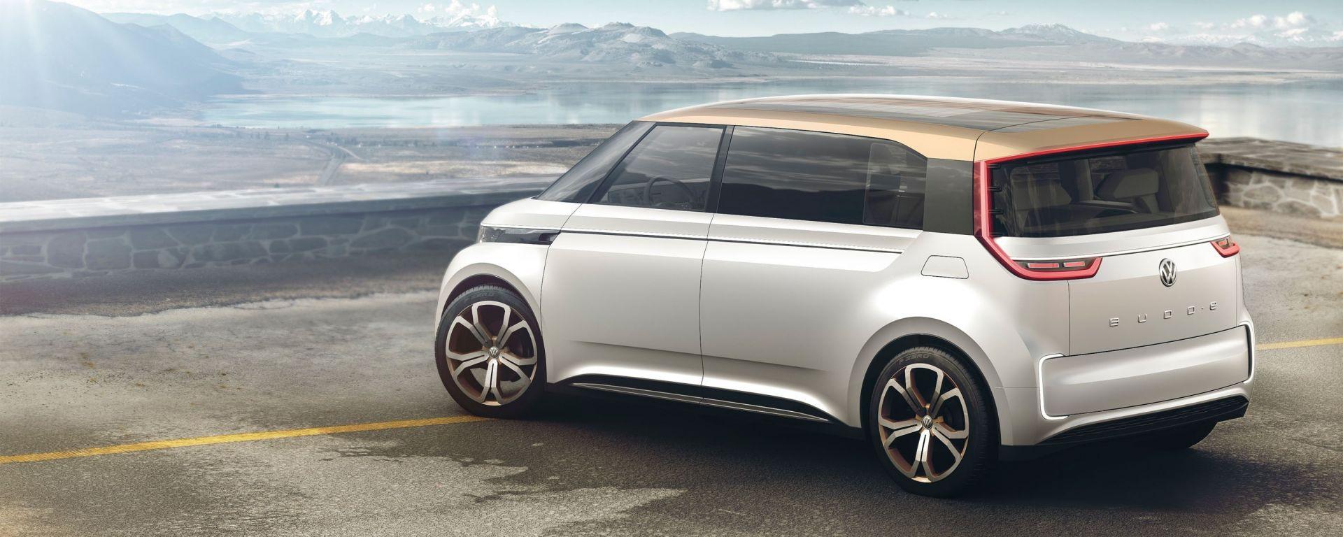 Volkswagen Budd-e, la prima elettrica di VW basata sulla nuova piattaforma MEB
