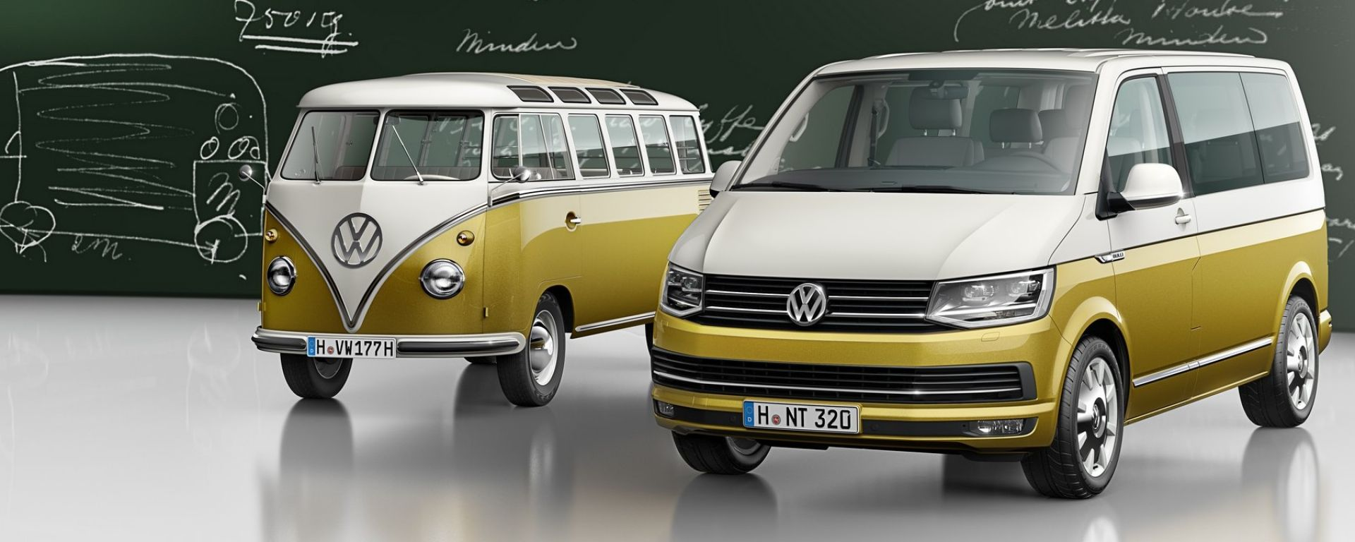 Salone di ginevra 2017 volkswagen bulli 70 anni un po for Furgone anni 70 volkswagen