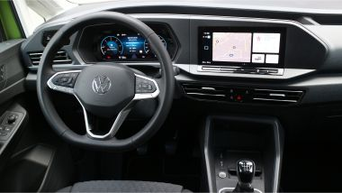 Volkswagen Caddy Kombi Life, gli interni