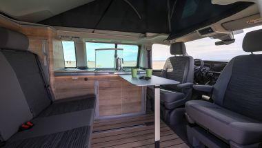 Volkswagen California Ocean 6.1: gli interni