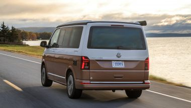 Volkswagen California Ocean 6.1: il posteriore