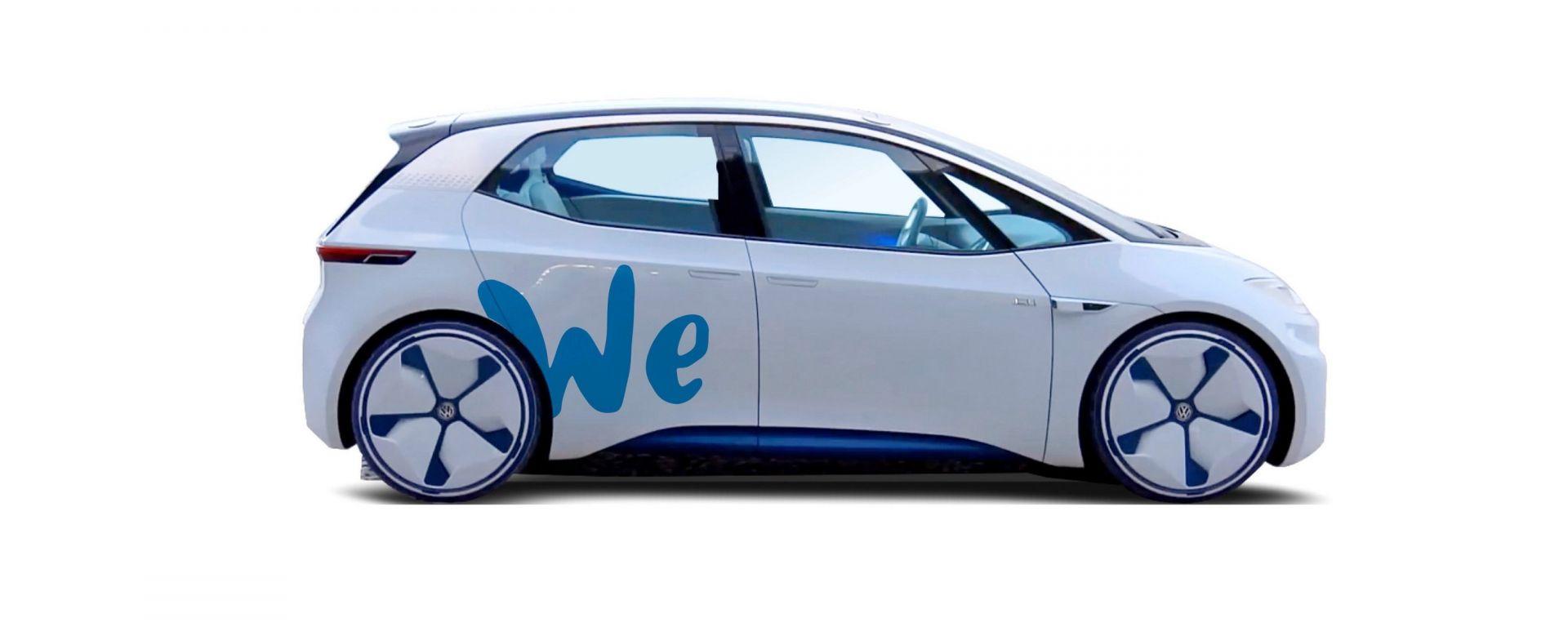 Volkswagen: car sharing a zero emissioni entro il 2020