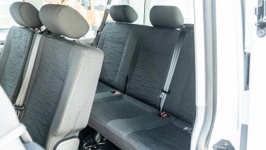 Volkswagen Caravelle, i sedili della seconda e della terza fila