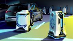 Robot caricabatterie, Volkswagen fa sul serio. Guarda il video - Immagine: 4
