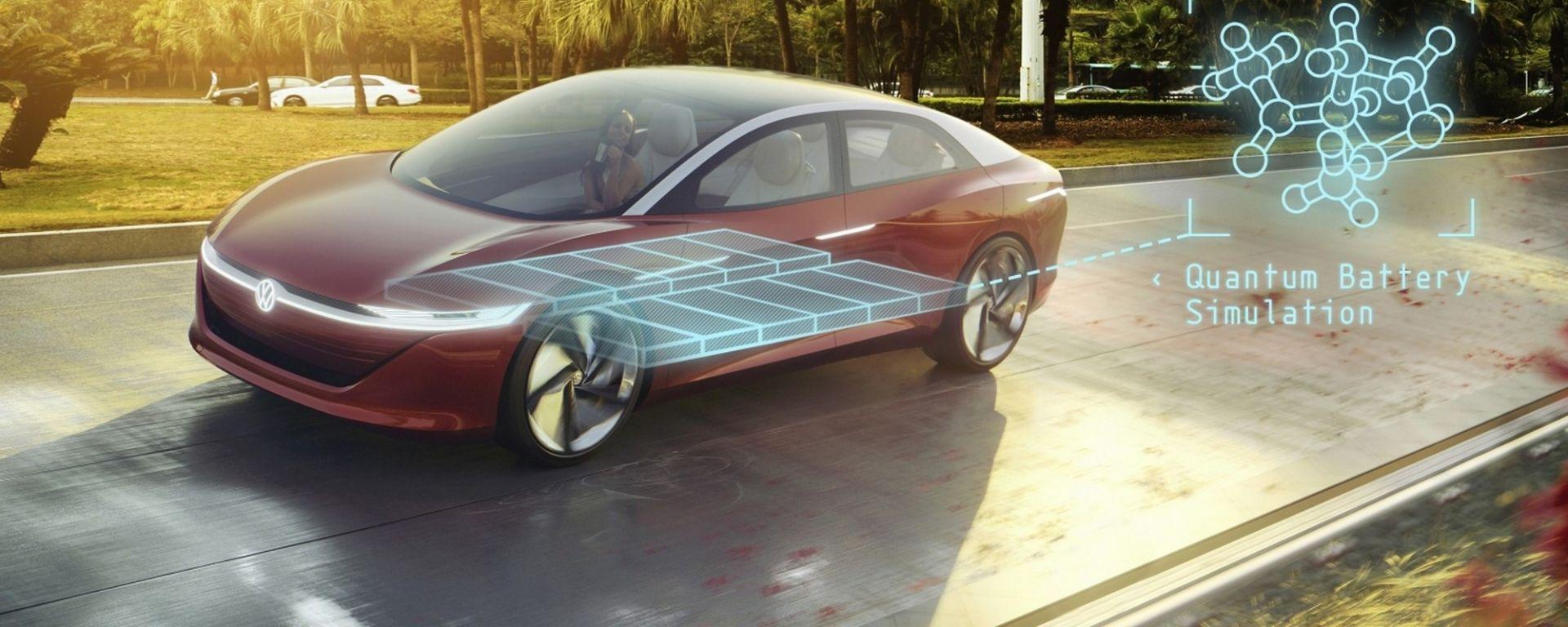 Volkswagen, computer quantici per le batterie del futuro