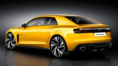 Volkswagen Corrado 2021: il render di 3/4 posteriore