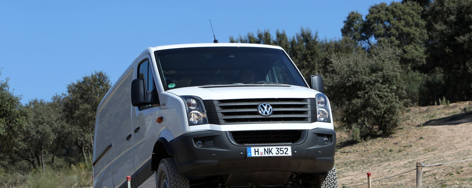 Volkswagen Crafter 4Motion by Achleitner