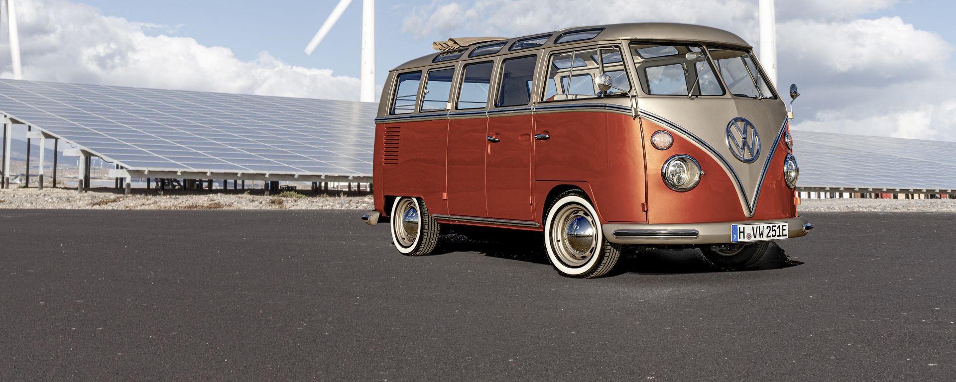 Volkswagen e-Bulli: il frontale