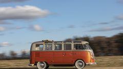 Volkswagen e-Bulli: vista laterale