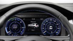 Volkswagen e-Golf: di serie c'è la strumentazione 100% elettrica