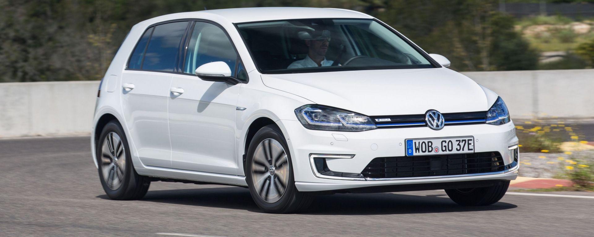 Volkswagen e-Golf: la prova dell'elettrica tedesca