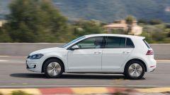 Volkswagen e-Golf: l'accelerazione da 0 a 100 si consuma in 9,2 secondi