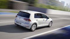 Volkswagen e-Golf: vista posteriore dall'alto