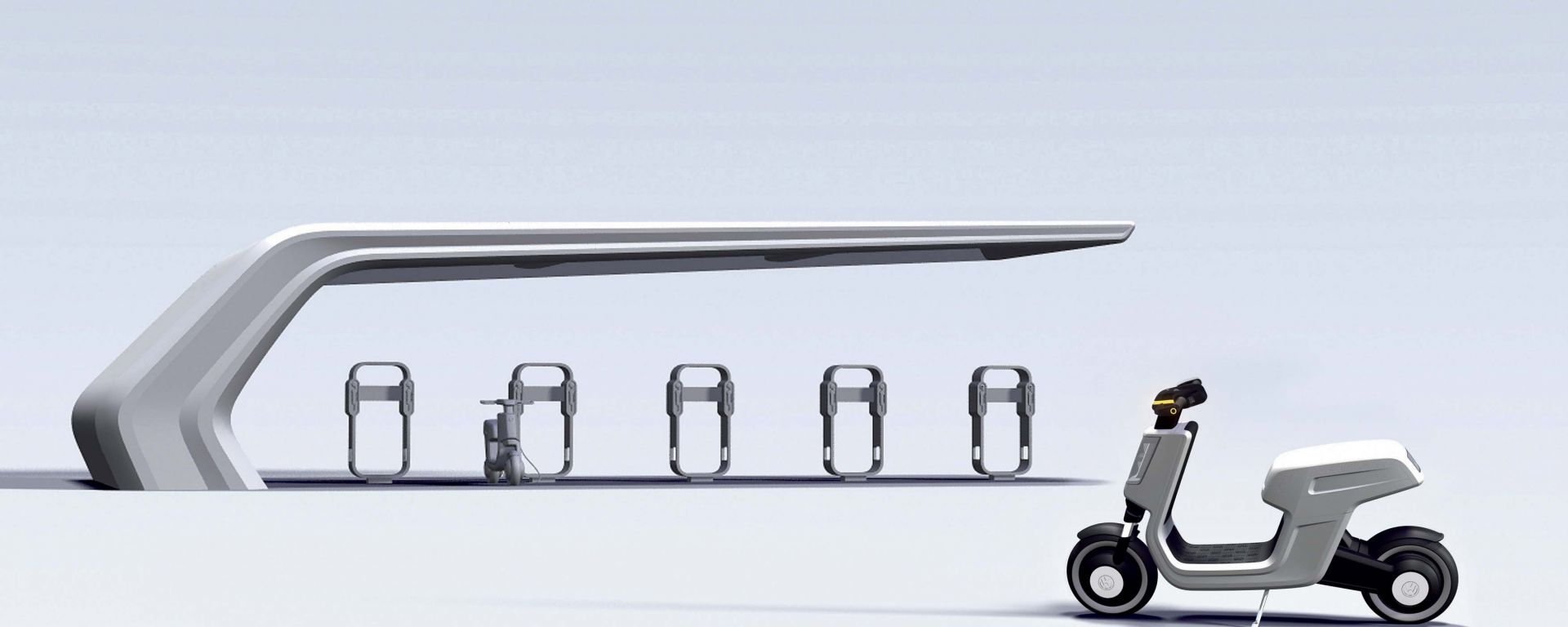 Volkswagen e-scooter, le nuove foto