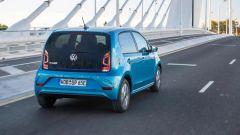 Volkswagen e-up! il posteriore