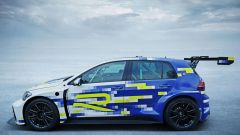 Volkswagen eR1: vista laterale
