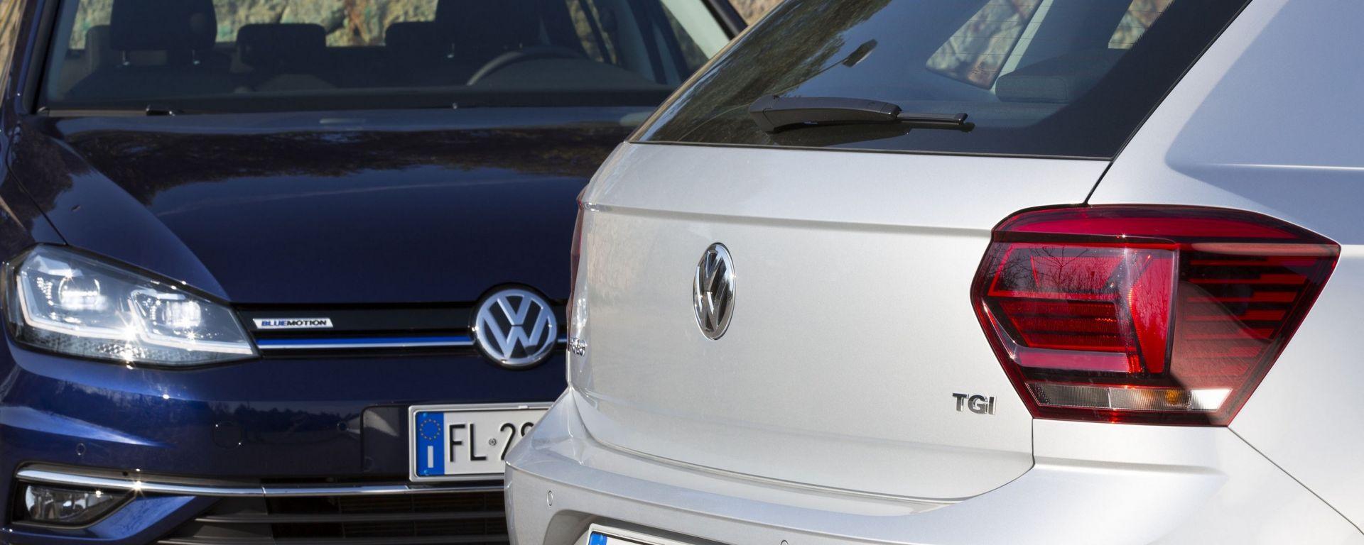 Volkswagen gamma a metano con Eco UP, Golf e prima per Polo