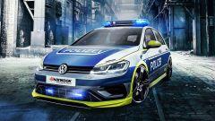 Volkswagen Golf 400R: 300 km/h per l'auto della Polizia tedesca