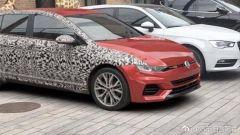 Volkswagen Golf 8 2020, nuove foto spia, ma è un fake: photoshop