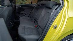 Volkswagen Golf 8, i sedili posteriori
