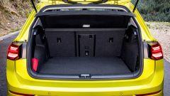 Volkswagen Golf 8, il bagagliaio