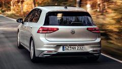Volkswagen Golf 8, il posteriore