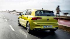 Volkswagen Golf 8: il posteriore