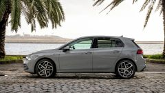Volkswagen Golf 8, la fiancata