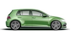 Volkswagen Golf 8, la possibile fiancata