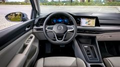 Volkswagen Golf 8, l'abitacolo