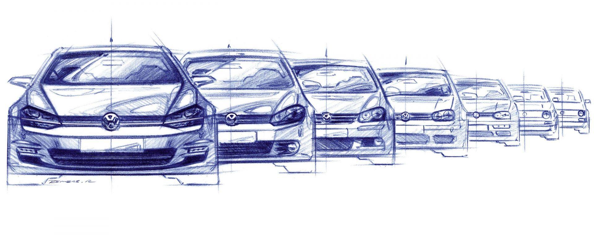 Volkswagen Golf: a novembre arriverà il restyling della settima generazione