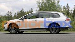 Volkswagen Golf Alltrack 2021: visuale laterale