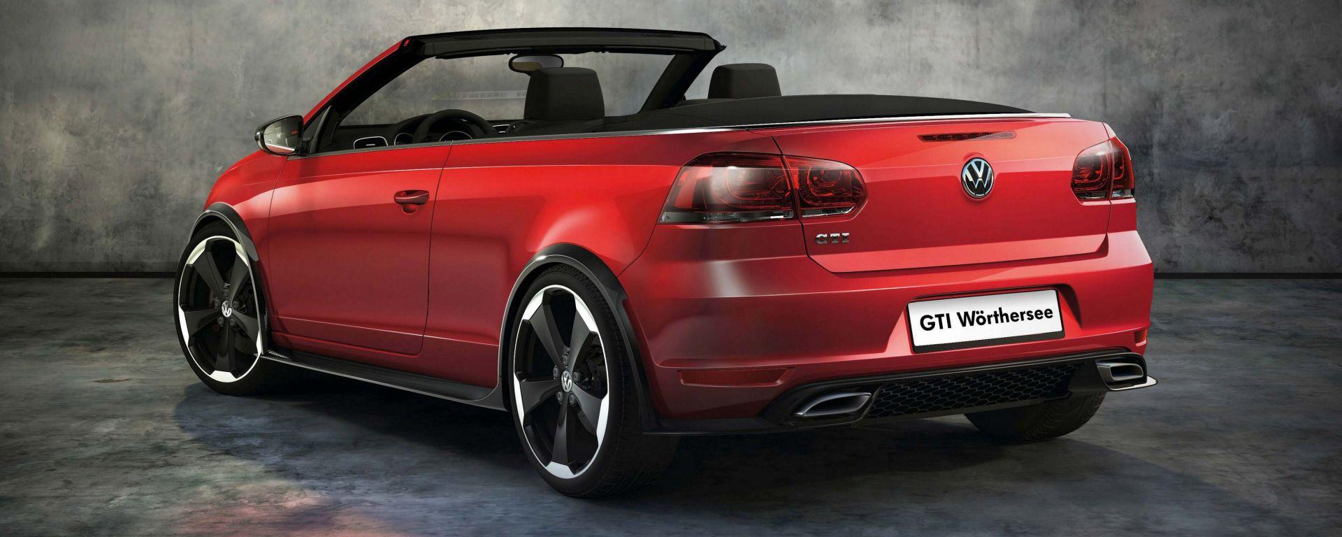 Volkswagen Golf Cabrio R e GTI concept