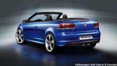 Volkswagen Golf Cabrio R e GTI concept - Immagine: 3