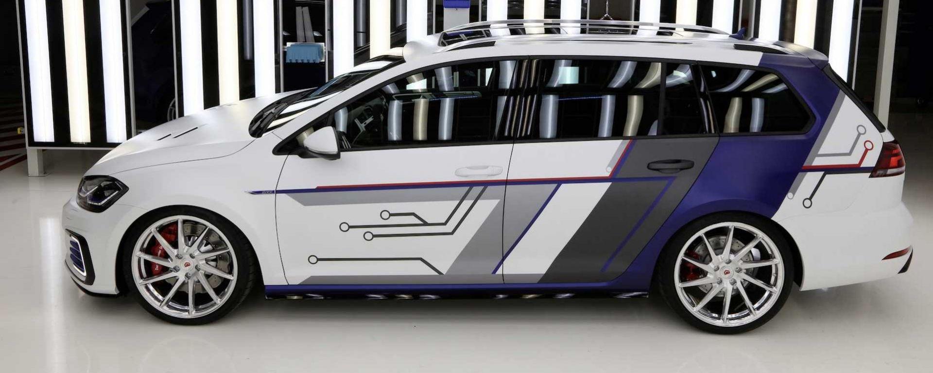 Volkswagen Golf GTE Impuls E: la prima GTE con la coda al Worthersee