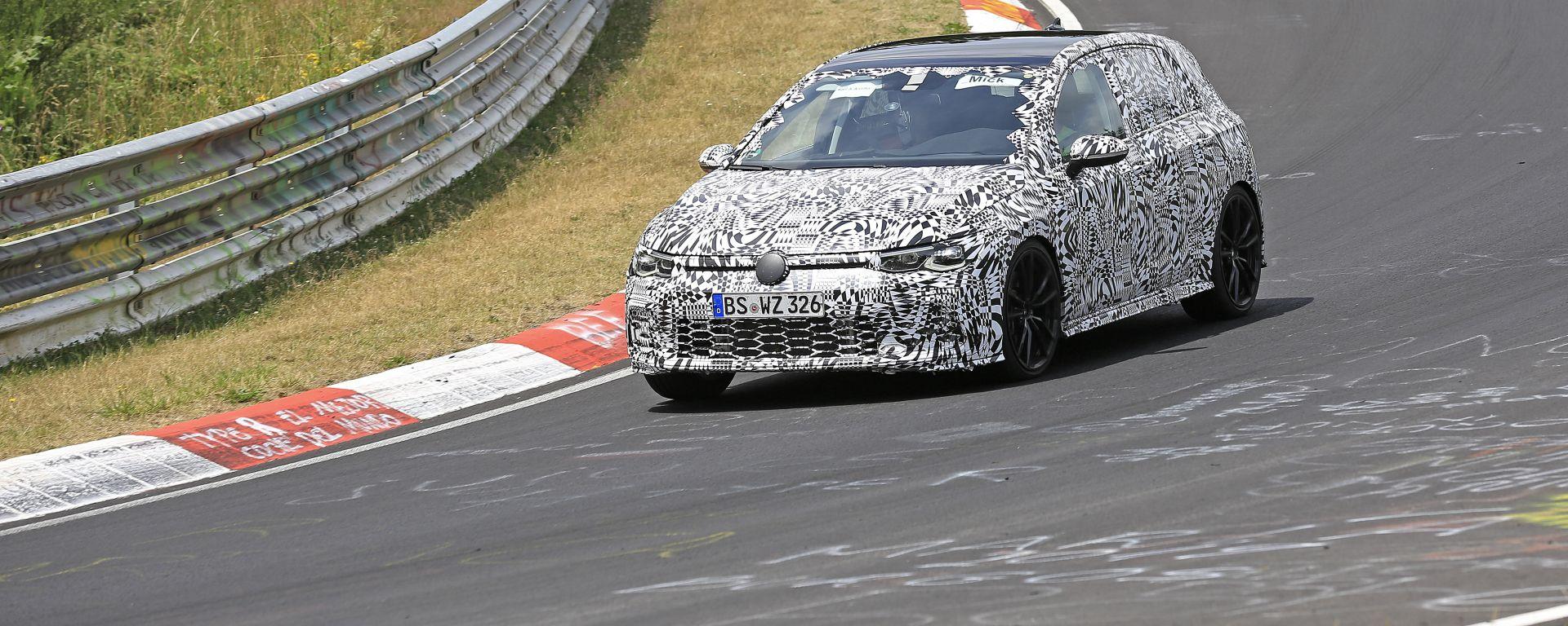 Volkswagen Golf GTI 2020: il frontale