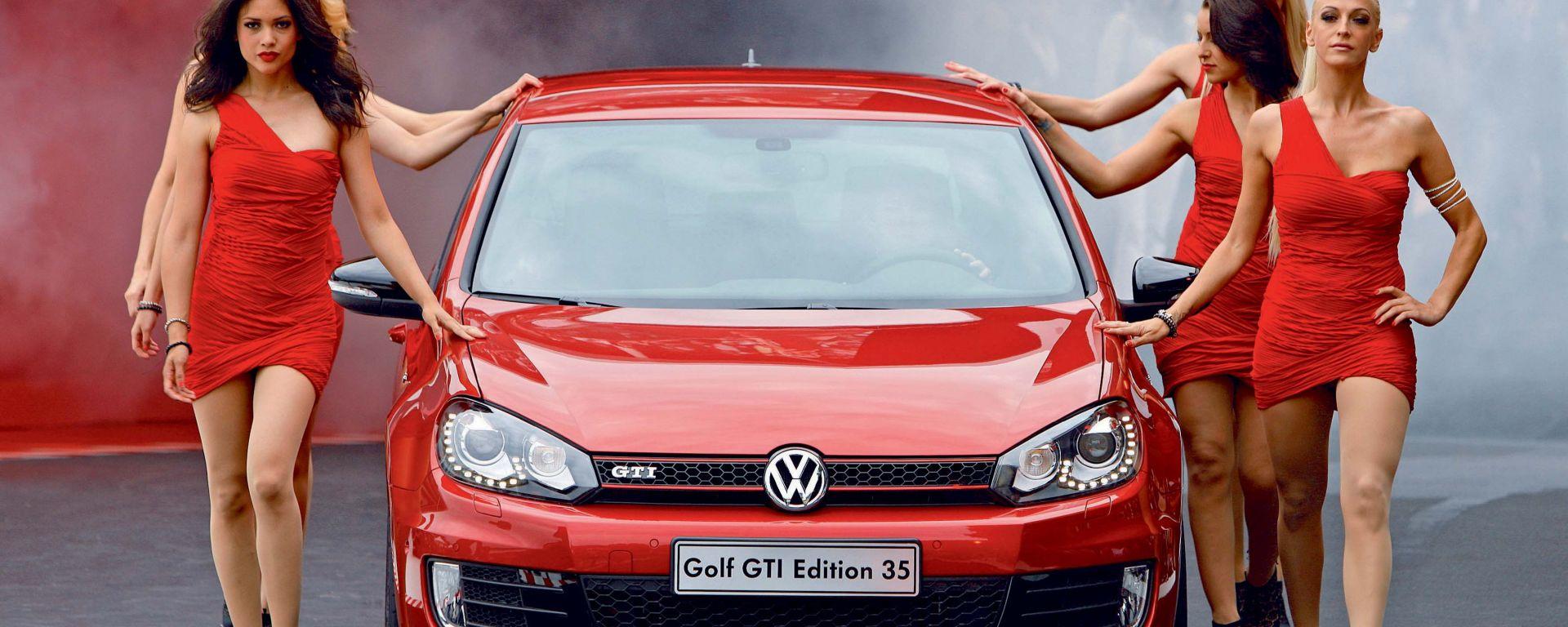 Volkswagen Golf GTI: la Edition 35 e tutte le altre