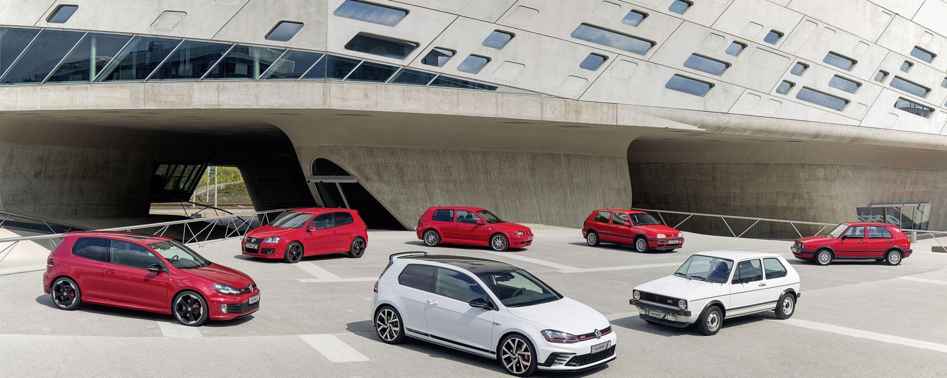 Pronta la festa per la Volkswagen Golf GTI
