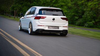 Volkswagen Golf GTI BBS Concept: visuale di 3/4 posteriore