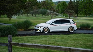 Volkswagen Golf GTI BBS Concept: visuale laterale