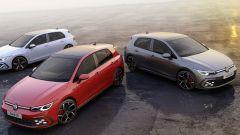 Volkswagen Golf GTI, Golf GTD e Golf GTE
