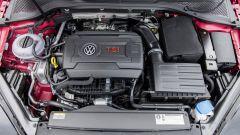 Volkswagen Golf GTI: il motore è il 2.0 turbo benzina da 245 cv e 380 Nm di coppia