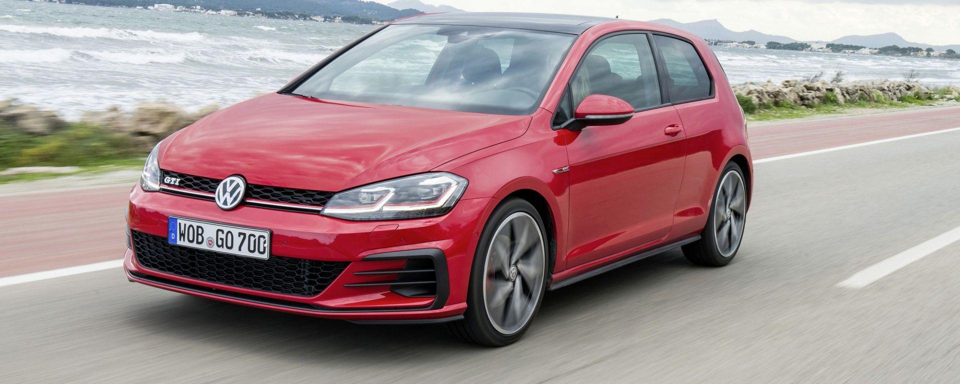 Volkswagen Golf GTI: la prova su strada