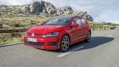 Volkswagen Golf GTI: lo stile è quello classico, sportività senza strafare
