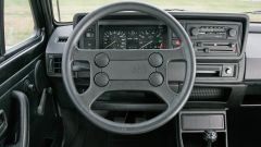 Volkswagen Golf GTI Mk I del 1983: gli interni