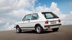 Volkswagen Golf GTI Mk I: visuale di 3/4 posteriore