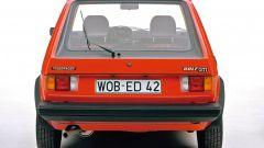 Volkswagen Golf GTI Mk I: visuale posteriore