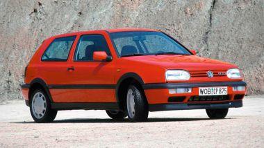 Volkswagen Golf GTI Mk III: visuale di 3/4 anteriore